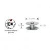Bobine per navetta rotante diametro 21,2 mm altezza 9,2 mm - 611351 Prym
