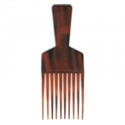 Pettine a forchetta per capelli ricci, mossi e afro