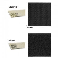 Velcro © nastro 50mm Autoadesivo UNCINO + ASOLA