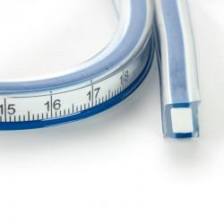 Regolo flessibile per linee curve lungo 50cm