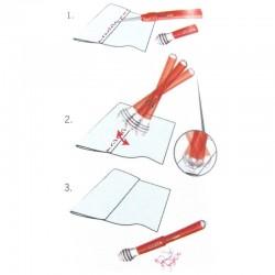 Taglia imbastiture scucipunto con dispositivo di rimozione del filo
