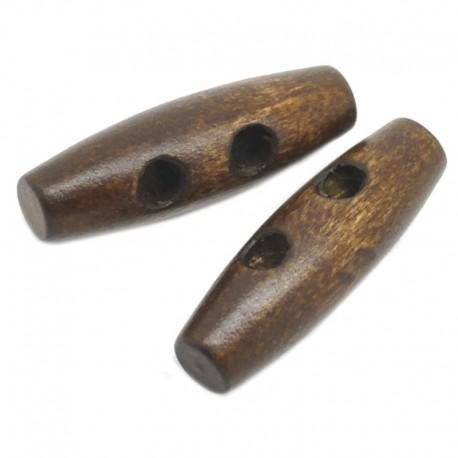 Bottoni in legno olivetta per Alamari