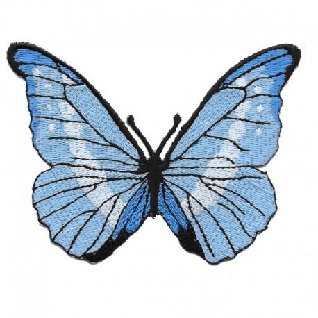 Farfalla grande patch ricamata e termoadesiva - Modidea