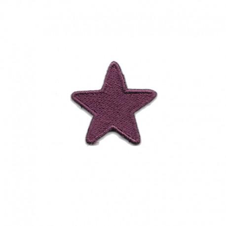Stella piccola patch ricamata e termoadesiva - Modidea