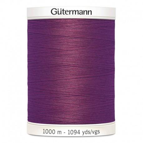 Filo per cucire Gutermann colore 259 Borgogna Bordeaux Chiaro spola da 1000m
