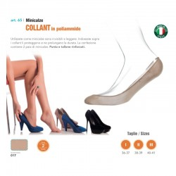 BABETTE in NYLON Salvacollant - 2 Paia