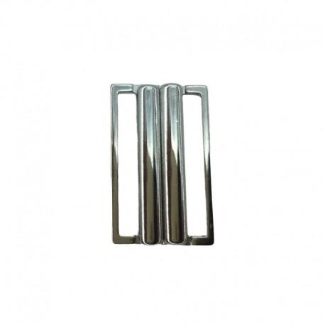 Gancio chiusura in metallo 30 mm argento - 166.66 Marbet