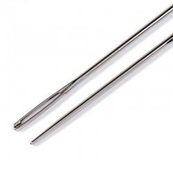Aghi da Lana senza punta con cruna argento N. 14 - 1,90 x 60 mm