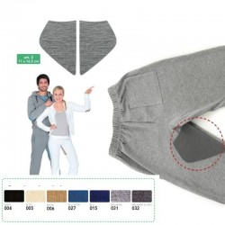 Rinforzi Olympic termoadesivi in Jersey per pantaloni - 3 Marbet