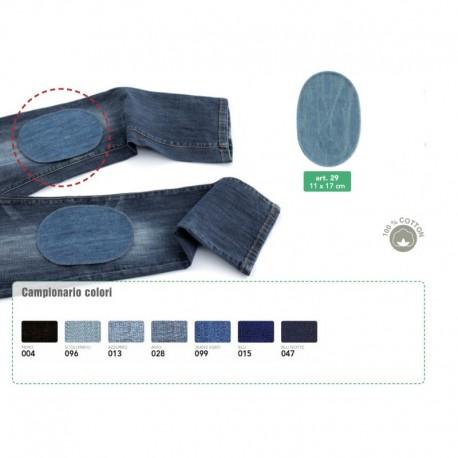 Toppe Jeans termoadesive in tessuto DENIM - 29 Marbet