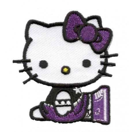 Hello Kitty applicazione ricamata termoadesiva - Sanrio