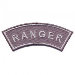 Ranger, scritta termoadesiva GRIGIA