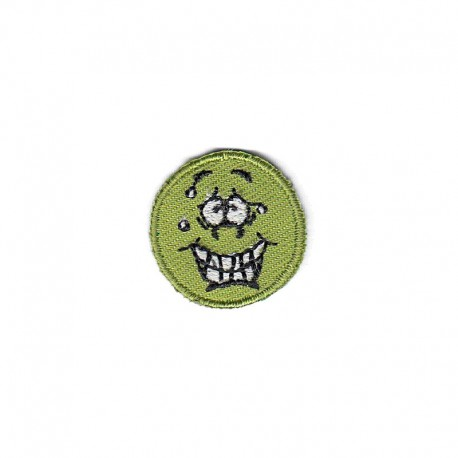 Applicazione Termoadesiva Smile, Faccina, Emoticon, Emoji piccola - 9675D Marbet